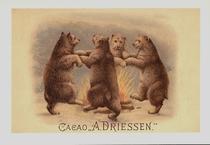 Reclamekaart A.Driessen 15 x 10,5 cm