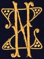 Monogram Z.N. 4 x 3 cm