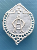 Monogram - Little  A.O. 3 x 2,5 cm