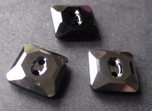 Swarovski - Jet Hamatite Unfoiled 10 mm