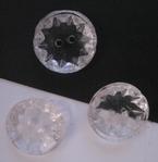 Button - transparent 14,5 mm
