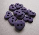 6 Miniherz - Violett 6  x 7 mm