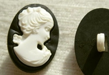 Cameo knoop 24 x 18 mm
