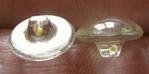 Glasknoop - transparant 16 mm
