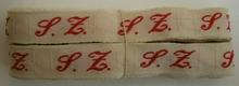 1 Initiaal - Lint S.Z. Lint 1 cm breed