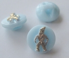 Button-Blue 11 mm