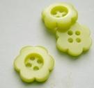 Bloem - Knoop -geel 11 mm