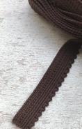 Elastiek - bruin (3 mtr) 14 mm