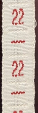 1 Initiaal - Lint 22 8 mm