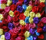 Blumen - blau 15 - 18 mm