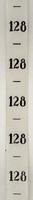 Maatlint - Zwart maat 128