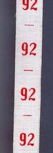 Maatlint - rood maat 92