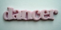 dancer - licht roze 10 x 41 mm