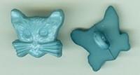 Poes - groenblauw 12mm hoog