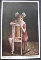 Postkart - Das allergefährlichste Alter 14 x 9 cm