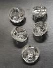Glasknoop - transparant 8 mm