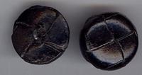 Knoop - zwart 18 mm
