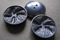 BL- Knoop - donkerblauw 23 mm