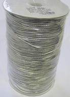 Elastiek-Zilver (1mtr) 1,5 mm
