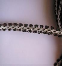 Band - black 7 mm