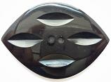 Knoop - Hoorn 90 x 60 mm