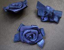 1 Roosje - Donkerblauw 27 mm
