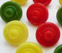 Button-Yellow 11 mm