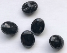 Button - black - brown 11 mm