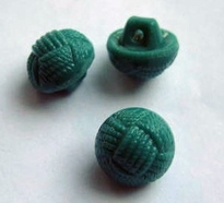 Button-Green 11 mm