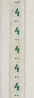 Band - grün maat 4