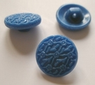 Button-Blue 13 mm