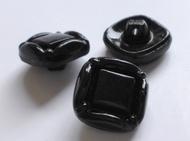 Knopf - Schwarz 15 mm