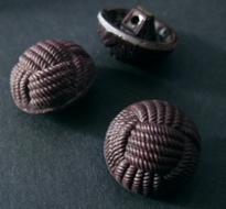 Button-  Brown 15 mm