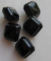 Knopf - Schwarz 10 mm