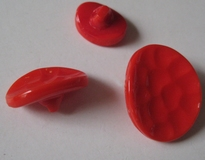 Button-red 14 x 11 mm