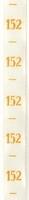 Maatlint - geel maat 152