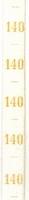 Maatlint - geel maat 140