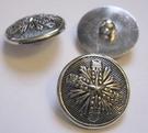 Silber-Knopf 18,5 mm
