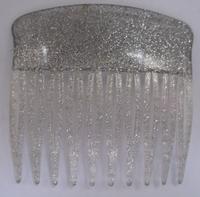 Haarkam - zilverkleur