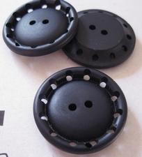 Grote - Knoop - donkerblauw 30 mm