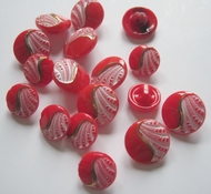 Button-Red 12 mm
