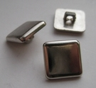 Silvercolor-button 12 mm