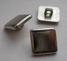 Silber-Knopf 12 mm