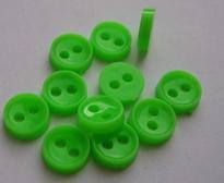 Poppenknoop - felgroen 6 mm