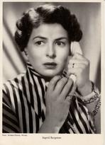 Ingrid Bergman 14 x 9 cm