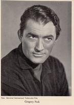 Gregory Peck 14 x 9 cm