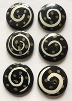 6 Buttons 29 mm