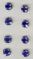 8 x  blauw 5 mm
