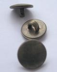 BR- Knoop -  bronskleur 10 mm