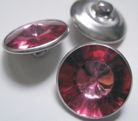 Strassknoop - fuchsia 18 mm